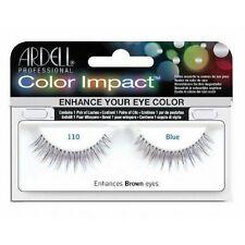 Ardell COLOR IMPACT 110 Blue False Eyelashes - Premium Quality Fake Lashes!