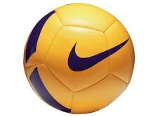 Nike Pitch Team Yellow Purple Size 5 Neon Ball Football Sport Training