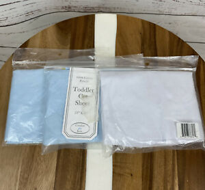 """3 American Baby Company 100% Cotton Percale Toddler Day Care Cot Sheet, 23"""" x 40"""