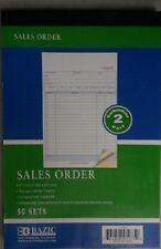 10 Pieces 2 Part Carbon-less Sales Order Books Receipt Form Invoice 50 Set new