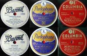 5 Original 78er Schellackplatten JAZZ/SWING - LENNIE TRISTANO BUSTER BAILEY.....