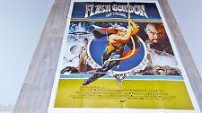 FLASH GORDON guy l'eclair   !  affiche cinema  comics bd 1979