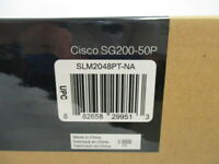Cisco  Small Business 200 Series SLM2048PT-NA Smart PoE Gigabit Switch SG200-50P