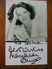 FRANCESCA ANNIS, GENUINE SIGNED PHOTO FROM ESTATE COLLECTOR COLLECTION.