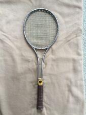 8907894bc470b Vintage 1970's! Wilson T2000 Tennis Racket, w/original leather grip (4-