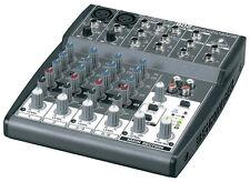 Behringer Xenyx 802 8 input Live Studio di miscelazione scrivania CONSOLE MIXER Band KARAOKE