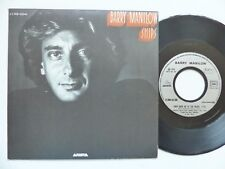BARRY MANILOW Ships 2C008 63346  Pressage France Discotheque RTL
