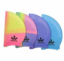 NEW multicolour Colorful Water Sports swimming hat caps brand new