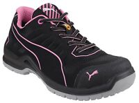 Puma Fuse TC Pink Low Safety Womens Industrial Work Trainers Shoes UK3-8