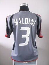 Paolo MALDINI #3 BNWT AC Milan Third Football Shirt Jersey 2003/04 (M)