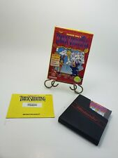Barker Bill's Trick Shooting (NES, 1990) With Case, Manual and Dust Cover