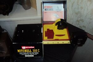 VINTAGE GARCIA MITCHELL 300 C CASE WITH EXTRA SPOOL