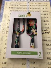 new Garden Party 2 Piece Floral Tools Kit Home/Garden Tool Sets Equipment Black