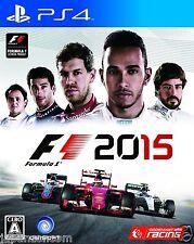 F1 2015 UBISOFT SONY PS4 PLAYSTATION JAPANESE NEW JAPANZON
