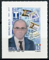 Italy People Stamps 2020 MNH Bruno Ielo 1v S/A Set