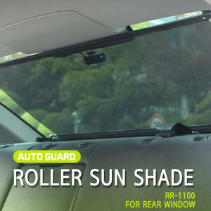 Retractable Sun Shade Visor Rear Window Roller Blind for all vehicle check size