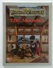 Advanced Dungeons & Dragons 2 2e 2nd - The Moonsea (1995) (EX) Collectible