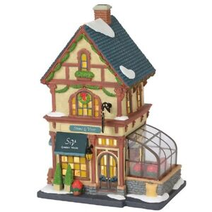 "Department 56 ~ Christmas In The City ""STEMS & VINES GARDEN HOUSE"" ~ RETIRED"
