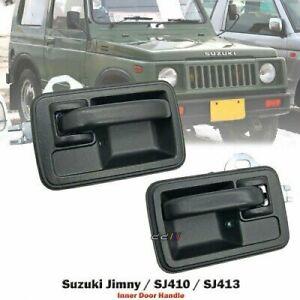 Pair Of Inner Door Handle For Suzuki Jimny Sierra SJ410 SJ413 Holden Drover