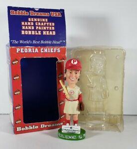 Peoria Chiefs Peoria Redwings Womens League Bobblehead NIB