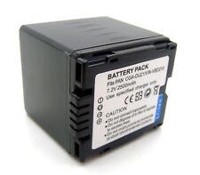 Battery for Panasonic NV-GS158 NV-GS180 NV-GS188 NV-GS200 NV-GS230 NV-GS250