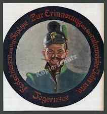 Thomas Baumgartner Armee Soldat Raupenhelm 1871 Schützenscheibe Tegernsee 1910!!