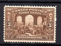 Canada KGV 1917 3c Dominion mint LHM SG244 WS18210