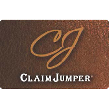 Claim Jumper Gift Card $25 Value, Only $22.00! Free Shipping!