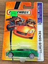 Matchbox Lexus GS430 #023 MBX '08 Metal Dark Green VHTF!!