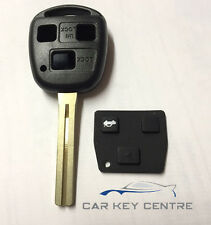 Repair For Toyota 3 button TOY40 Remote Car Key fob New Case Blade Land Cruiser