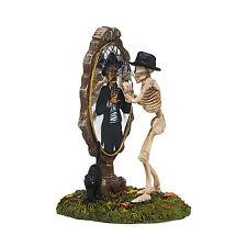 Dept 56 Halloween Snow Village Bone Again 4038886 NEW NIB Skeleton RETIRED
