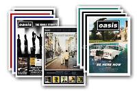 OASIS - 10 PROMOZIONALE POSTER DA COLLEZIONE Cartolina Set #5