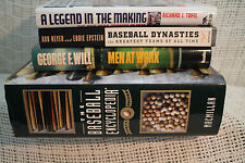 Lot 5 THE BASEBALL ENCYCLOPEDIA MEN AT WORK A LEGEND IN THE MAKING DYNASTIES