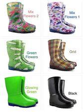 New Wellington Boots Womens Ladies Wellies Waterproof Walking Gardening Rain