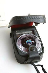 Gossen Luna Pro Photo Light Exposure Meter w Case & Batteries