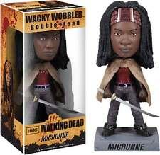The Walking Dead - Michonne Wacky Wobbler Bobble-Head Figure NEW IN BOX Funko