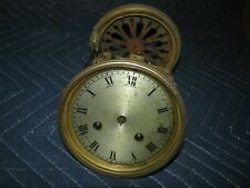 FRENCH SQUARE PLATE MANTLE CLOCK MOVEMENT