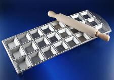RAVIOLIFORM RAVIOLIBRETT FORM BRETT 24 RAVIOLI MAKER MOULE CLASSICI ALUMINIUM XL