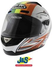 Vemar Eclipse De Angelis Replica Motorcycle Helmet Race Motorbike Rainbow XL 62