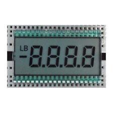 EDS805 4-Bit 8-Digit TN Segment LCD Display Module 50.8x30.48x2.8mm Metal Pin