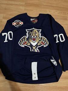 Florida Panthers Jean-Francois Laniel Game Worn NHL Hockey Practice Jersey 56