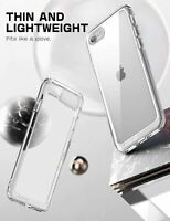 SUPCASE For iPhone SE 2nd Gen 2020 / 7 8, Slim Clear Case Shockproof Thin Cover
