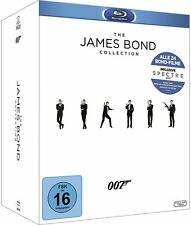 THE JAMES BOND 007 COLLECTION (24 Blu-ray Discs + Bonus Disc + Booklet) NEU+OVP