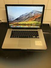 "Apple MacBook Pro A1286 15.4"" Laptop -(LATE2011)8GB 180GB SSD"