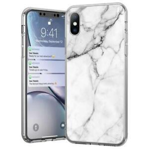 Wozinsky TPU Handyhülle Marmor Weiß für iPhone 12 NEU + OVP