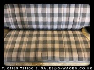 Mercedes G-wagen Rear Seat Grey Check W460 W461 G-wagon *VERY RARE*