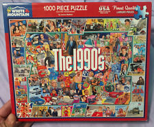 White Mountain puzzle -The 1990's - 1,000 pieces - COMPLETE