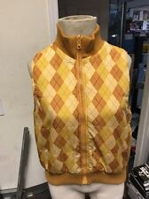 MKM Designs LARGE YELLOW Sleeveless Sweater Vest