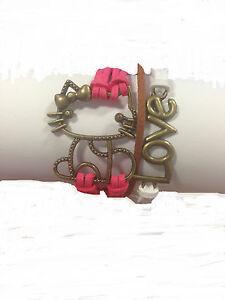 Infinity/Cute/Love/Hello Kitty Bracelet