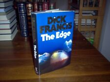 The Edge by Dick Francis (signed)